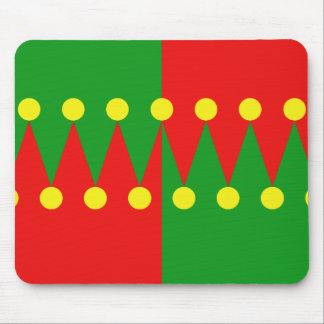 Hat Pattern Mouse Pad
