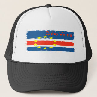 hat personalized flag of Cape Verde