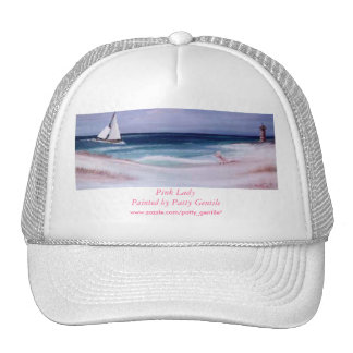 Hat Pink Lady