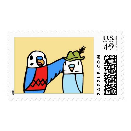 Hat Postage Stamp