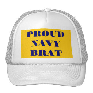 Hat Proud \Navy Brat