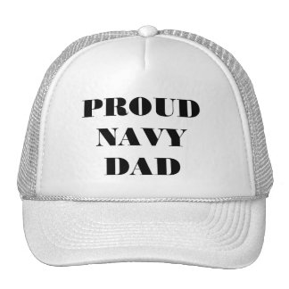Hat Proud Navy Dad