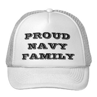 Hat Proud Navy Family
