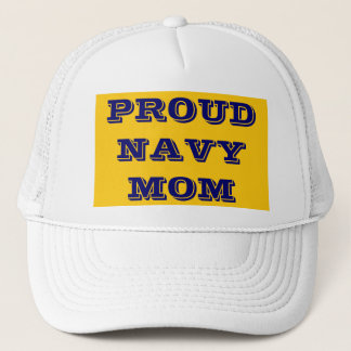 Hat Proud \Navy Mom