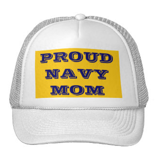 Hat Proud \Navy Mom