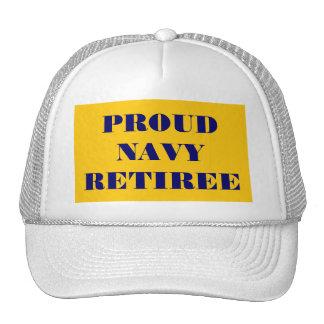 Hat Proud Navy Retiree