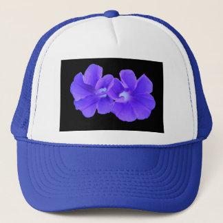 Hat, Purple Floating Morninglories 5226 Trucker Hat