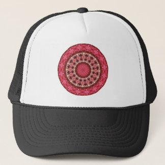 HAT - Red Mandala Pattern