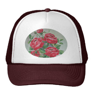 Hat Red Roses