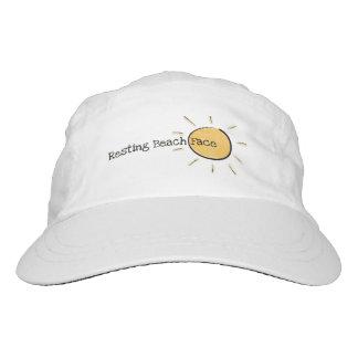 Hat, Resting Beach Face Headsweats Hat