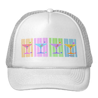 Hat - Retro Pop Art Martinis