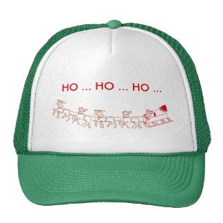 Hat - Santa and Sleigh