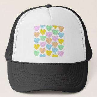 Hat -SCC Pastel Hearts