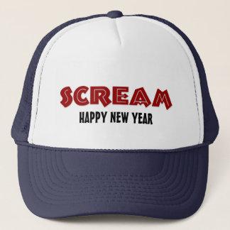 Hat Scream Happy New Year