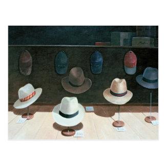 Hat Shop 1990 Postcard