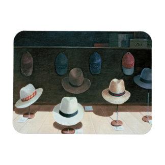 Hat Shop 1990 Rectangular Photo Magnet
