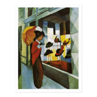 Hat Shop by August Macke Postcards