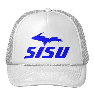 HAT~ Sisu Finnish Heritage & Upper Peninsula of MI Trucker Hat
