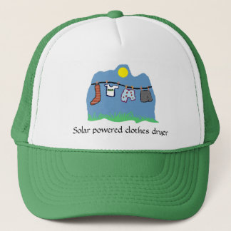 Hat -Solar powered clothes dryer