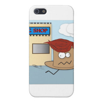 Hat Stealing a Wig IPhone Case iPhone 5 Cases