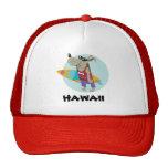 HAT SURFER DOG HAWAII