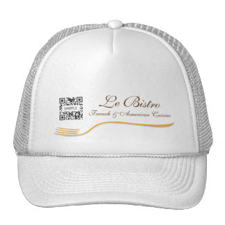 Hat Template Fine Dining French