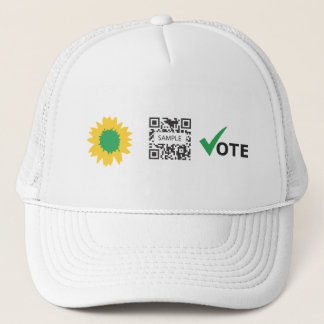 Hat Template Green Party