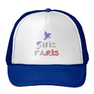 Hat Template Je Suis Paris I love Paris