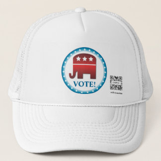 Hat Template Republican Elephant