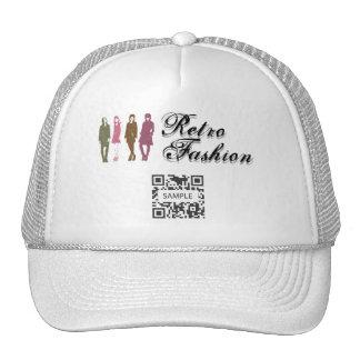 Hat Template Retro Fashion