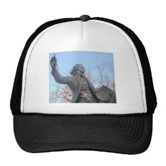 Hat Thomas Paine Statue Holding Rights Of Man