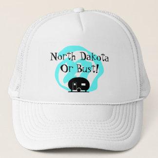 Hat Travel Trailer North Dakota or bust ND camp