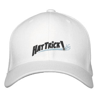 Hat Trick Hat Embroidered Baseball Caps