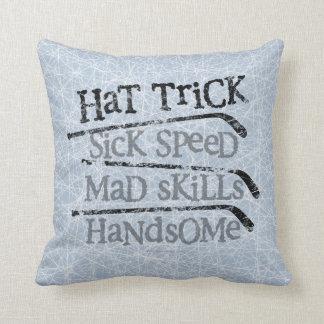 Hat Trick Pillow