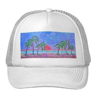 Hat-Tropical Moment Trucker Hat