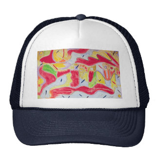 Hat - Unique Gift - Abstract Design