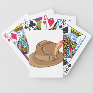 Hat Vector Bicycle Playing Cards