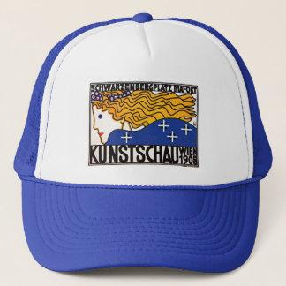 Hat: Vienna Secession Art by Berthold Loffler Trucker Hat
