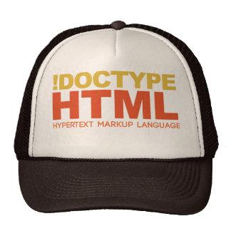 hat : webdesign HTML