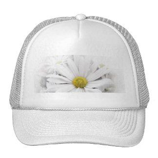 Hat-White African Daisy Trucker Hat
