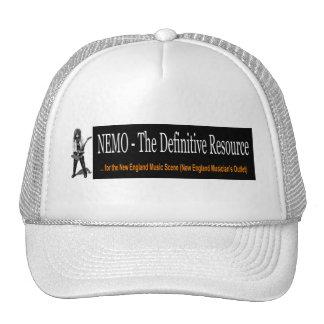 Hat: White NEMO Banner