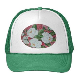 Hat White Roses