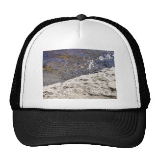 Hat with a river picture