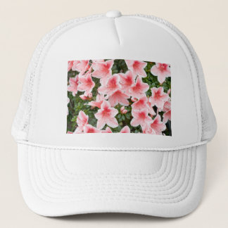 Hat with Azalea Flower Blossoms