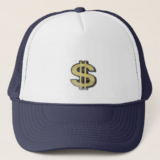 Hat with Big Yellow Dollar Sign