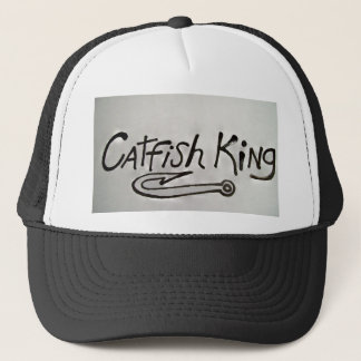 Hat with CATFISH KING on the front.