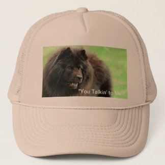 """Hat with Chow Chow - """"You Talkn' to Me"""""""