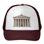 Hat with Classical Greek Architecture