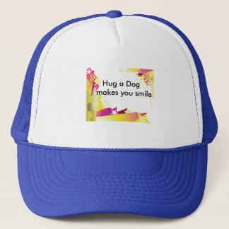 Hat with cute message