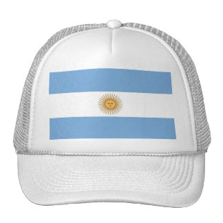 Hat with Flag of Argentina